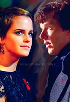 Mary Russell and Sherlock by DaniNinjaWarrior