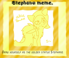 Stephano meme. X3 by 0Silverskull0