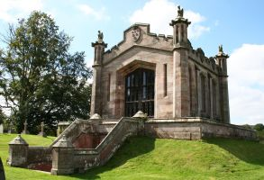 Lowther Castle Mausoleum 2 by GothicBohemianStock