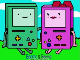 Beemo and Beema from A.T. by EmoAries