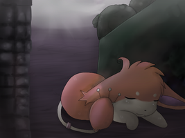 Alley Nap by Cherkivi