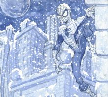 Spiderman by puste