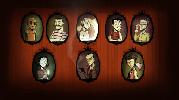 Don't Starve Wallpaper by Super-Cute