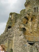 Scarborough Castle by LadyAcceber