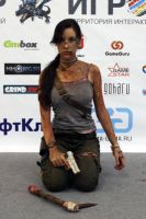 Lara Croft REBORN6 - Igromir'12 by TanyaCroft