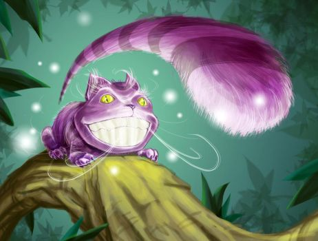 Cheshire cat-contest entry01 by Tregis