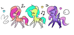 MLP Adopts (3/3 open) by Melody-Myers