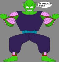 Barefoot Giant Piccolo Jr. by DragonBallFan2012
