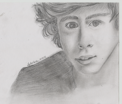 Harry Portrait by Nonsensical-Me