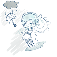 Oops Is It Raining by Tenshi--Hikari