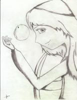 Princess Eilonwy and Bauble by appledrizzles