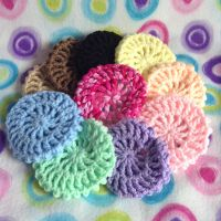 Rainbow of Crochet Ballet Snoods by MadameWario