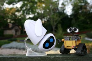 Adventures of Wall-E and Eve 5 by RubberDuckyTai