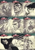 Marvel Master Pieces 3 Set 4 by jeffwamester