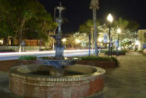 Photo Assignment 2 stop motion fountain Night by ENT2PRI9SE