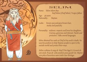 Steps : Characters sheet : Selim by K-naille