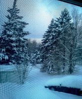 Morning Snow Through the Window by Lusaen