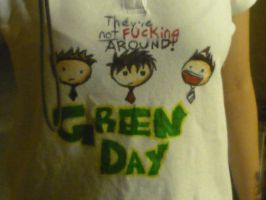 Green Day t-shirt by CometSpazzes14