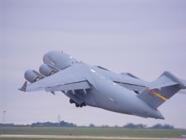 C 17 lift off by Flyboy008