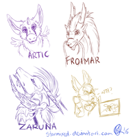 Stream Sketches! by starmixed