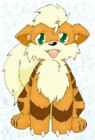 Growlithe, cutest pokemon ever by Pjevsen