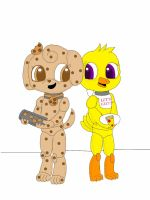 cookie and chica... by cookiethepuppy109