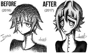 Crona Before And After by 0BubbleTea0