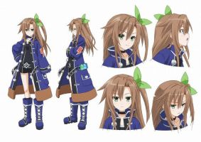 hyperdimension neptunia the animation IF! by 123icoo