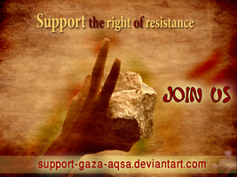 Support the right of resistanc by ahmadhasan