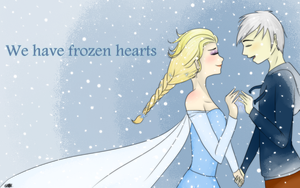 Jack and Elsa -Love Frozen- by Sofy-Arts