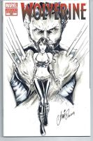 Wolverine X23 comic variant by HM1art