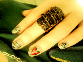 One Ring To Rule Them All by NailedItWithGlitter