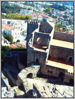 Castelo de Leiria by CountessSlayer