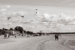 Beach in September by Whimish