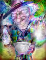 madhatter psycodelicatessen by scottynobody
