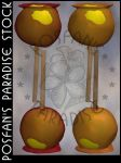 Candy Apples 002 by poserfan-stock