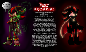 TMOM Profiles- Shadow the hedgehog by Saphfire321