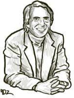 Carl Sagan by daxicut