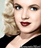 Young Marilyn Monroe by M3ment0M0ri