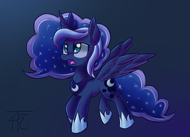 I AM the Princess of the Night! by wildberry-poptart