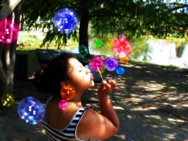 Bubbles Color by Nallebutterfly
