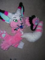 My first fursuit (partial) by nerdy24