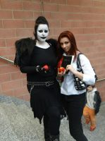 Ryuk and Light female version (Death Note) by Groucho91