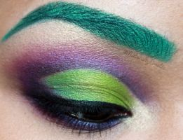 The Accidental Incredible Hulk Makeup by NaturallyErratic