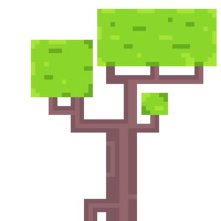 Pixel Tree by CaptainToog