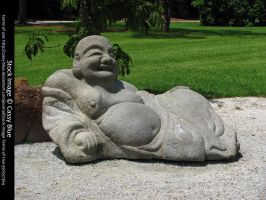Laughing Buddha Stock by Cassy-Blue