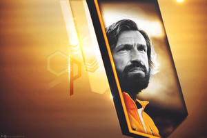 Andrea Pirlo - Golden - by BenciDA
