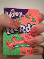 Tiny, Tangy, crunchy candy by Tiffyx