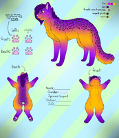 Egg Adopt #2 Reference Sheet by ButterflyColour
