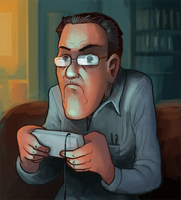 Angry Video Game Nerd by jjnaas